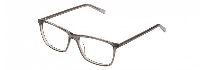 Side view of the William prescription glasses frame in gloss smoke