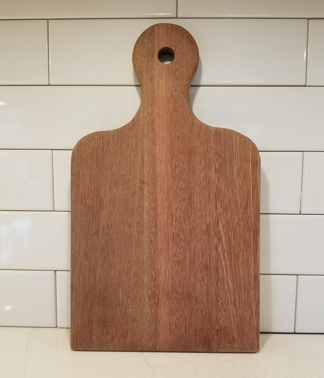 Oak, wood cutting, or bread board.