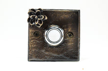 Load image into Gallery viewer, Square Hemlock Cone Doorbel | Timber Bronze | Oregon