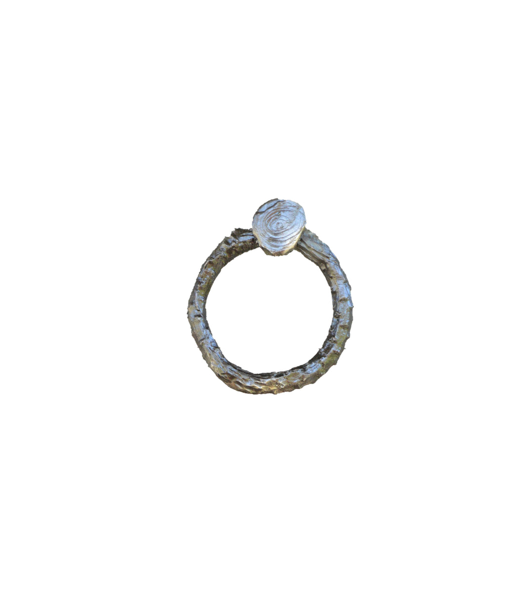 Lodgepole Branch Pull-Ring Style-Basic | Timber Bronze | Oregon