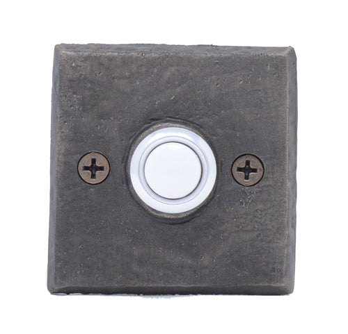 Classic Square Doorbell | Timber Bronze | Oregon