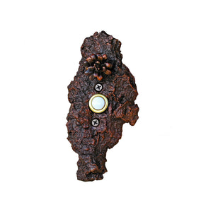 Bark Open Lodgepole Pine Cone Doorbell