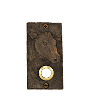 Load image into Gallery viewer, Cow doorbell made of bronze