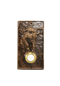 Classic Pig Doorbell | Timber Bronze | Oregon