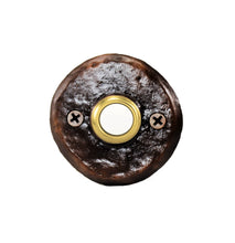 Load image into Gallery viewer, Classic Round Doorbell | Timber Bronze | Oregon