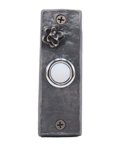Slim Hemlock Cone Doorbell | Timber Bronze | Oregon
