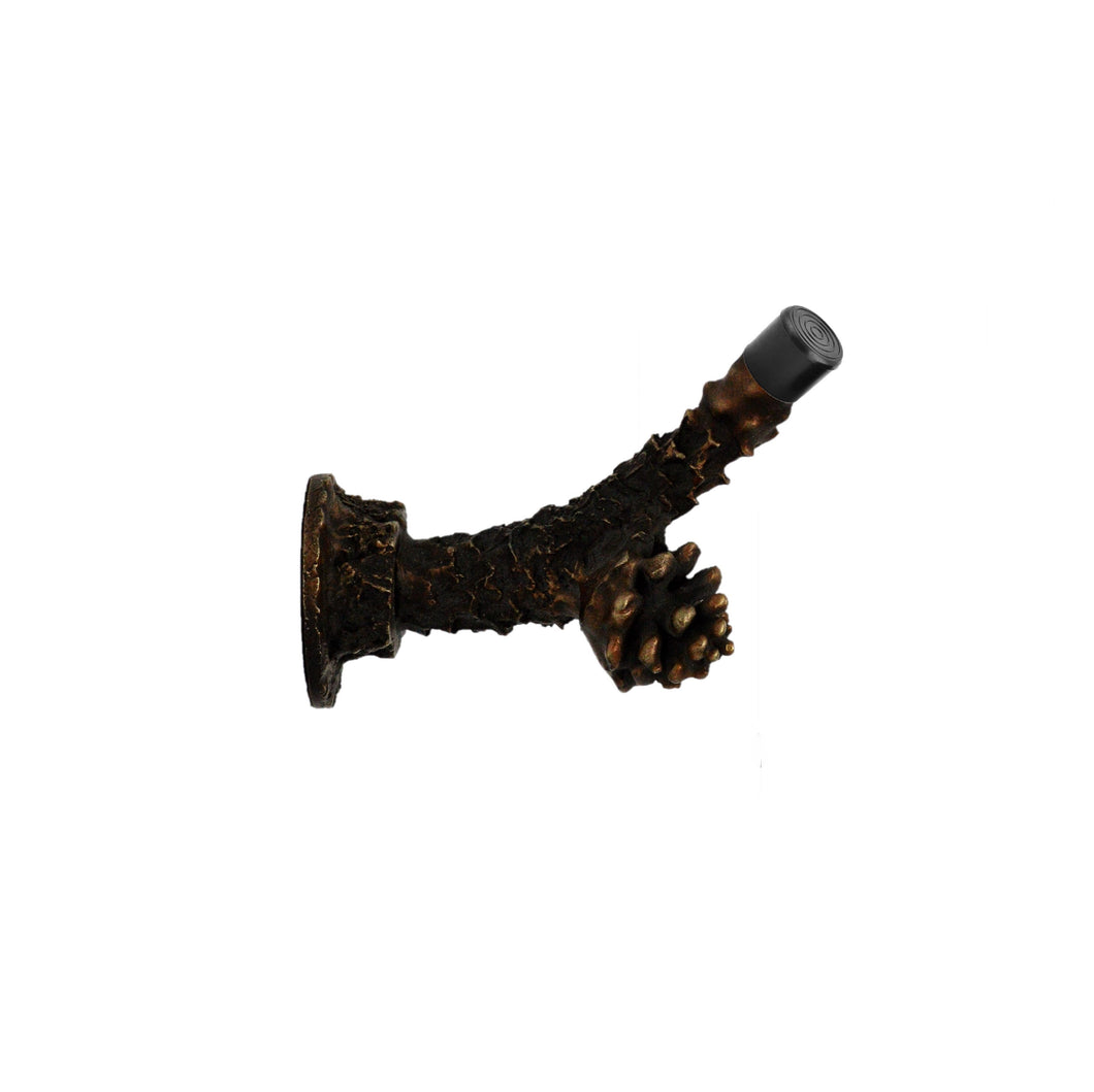 Lodgepole Branch Door Stop | Timber Bronze | Oregon