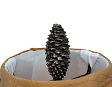 Load image into Gallery viewer, XL Closed Lodgepole Cone Finial | Timber Bronze | Oregon