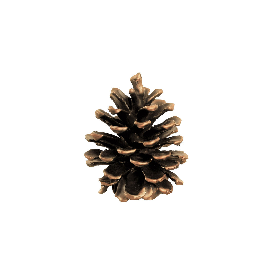 Ponderosa Cone Finial - Large | Timber Bronze | Oregon