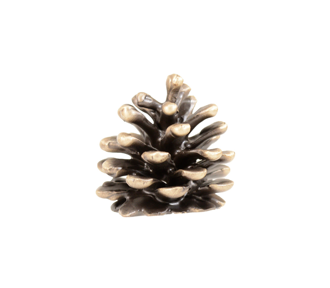 Ponderosa Cone Finial - Small | Timber Bronze | Oregon