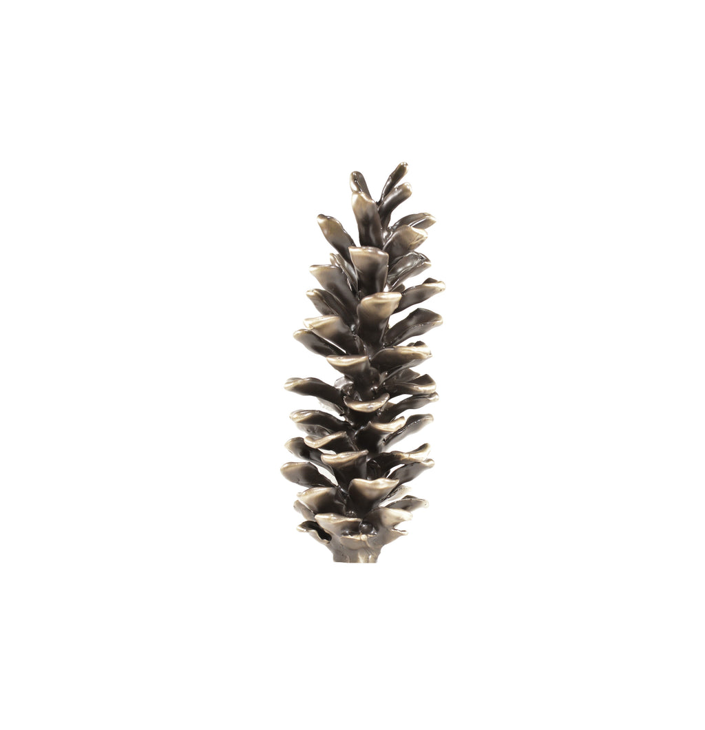 White Pine Cone Finial | Timber Bronze | Oregon