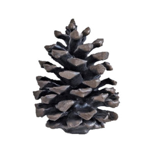 Ponderosa Pine Cone Knob (Vertical, Medium) - Basic | Timber Bronze | Oregon