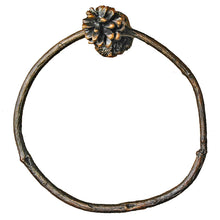 Load image into Gallery viewer, Lodgepole Pine Cone Towel Ring | Timber Bronze | Oregon