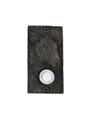 Rectangle Cow Doorbell