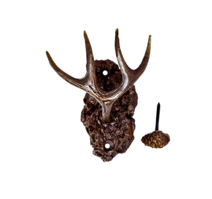 Mule Deer Antler Hook | Timber Bronze | Oregon
