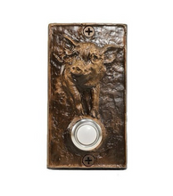 Load image into Gallery viewer, Classic Pig Doorbell | Timber Bronze | Oregon