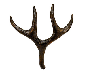 Mule Deer Antler Pull | Timber Bronze | Oregon