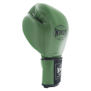 Proline Leather Boxing Gloves - Army Green