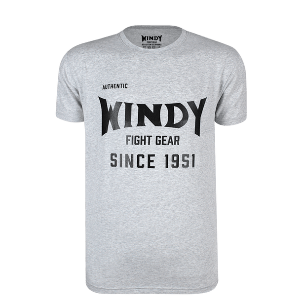 Classic Windy Grey T-Shirt - Windy Fight Gear