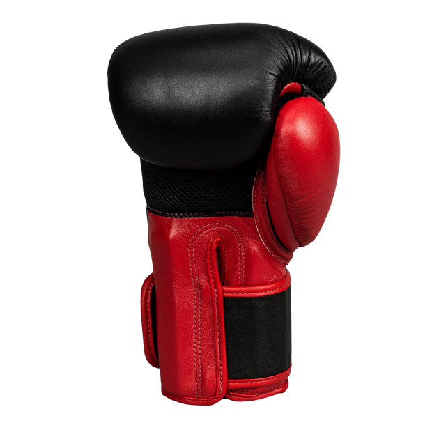 Climacool Boxing Gloves - Red & Black - Windy Fight Gear