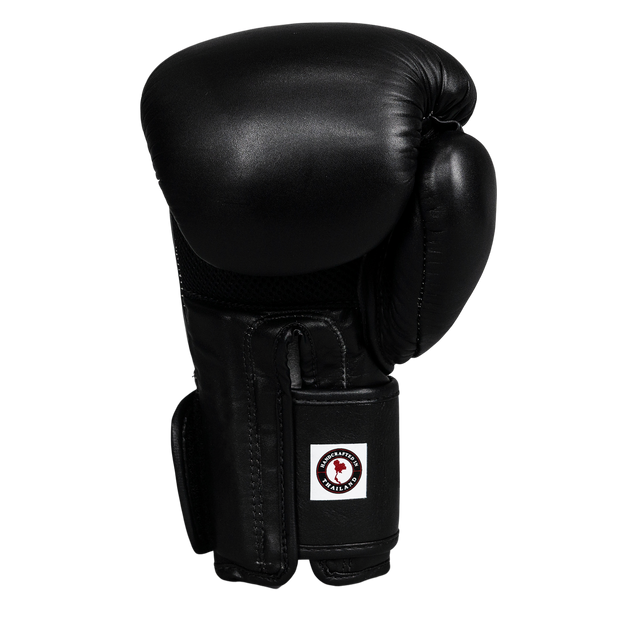 Climacool Boxing Gloves - Black - Windy Fight Gear