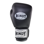 Kids Boxing Gloves - Black - Windy Fight Gear
