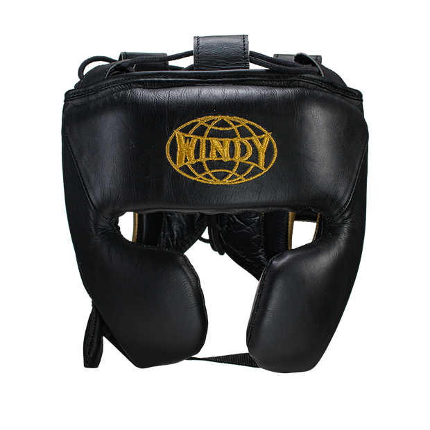 Pro Boxing Set - Black Gold - Windy Fight Gear