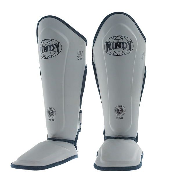 Proline Shin Guards - Grey - Windy Fight Gear