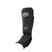 Step-in Shin Guards - Black - Windy Fight Gear