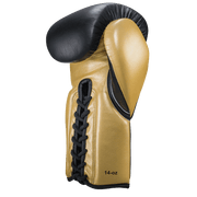 Black & Gold Lace-up - Pro boxing series - Windy Fight Gear