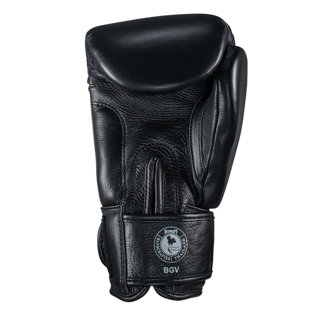Classic Leather Boxing Gloves - Black