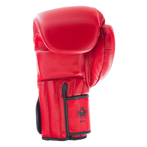Proline Leather Boxing Gloves - Red - Windy Fight Gear