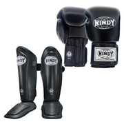 Proline Sparring Set - Black - Windy Fight Gear