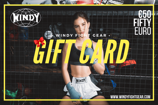 Windy Fight Gear ® Gift Cards €50 - €500 - Windy Fight Gear