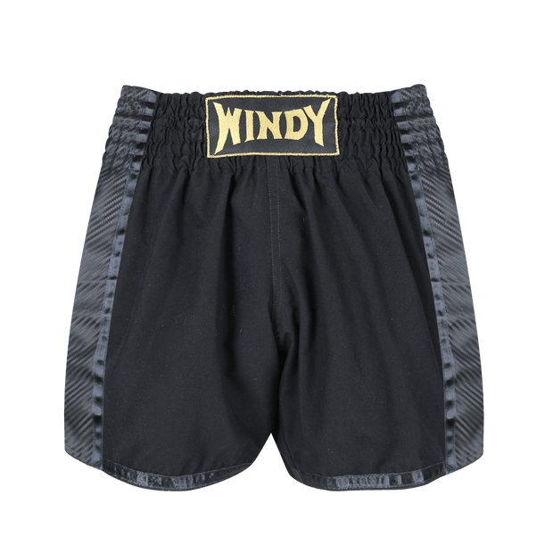 Lightweight Fight Shorts - Black - Windy Fight Gear