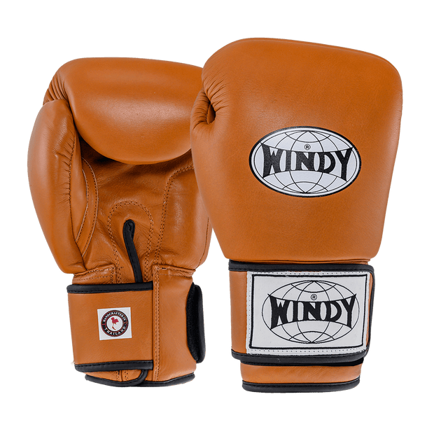 Classic Leather Boxing Gloves - Retro - Windy Fight Gear