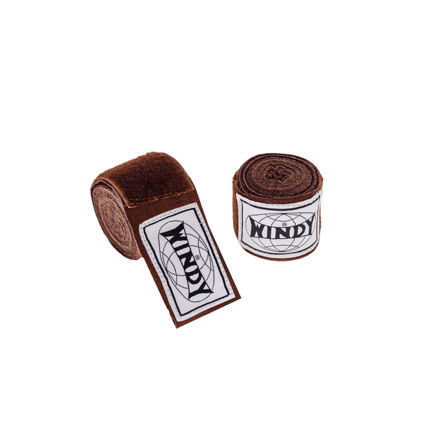Windy Hand Wraps - Brown - Windy Fight Gear