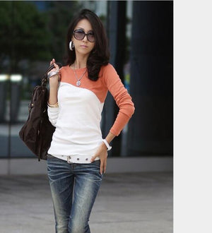 Autumn Spring Cotton Long Sleeve  T-Shirts