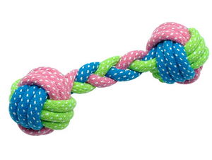 Cotton Dog Rope Toy Knot Puppy Chew Toy