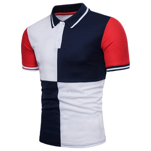 New Men's Large Size Casual Short-Sleeved T-Shirt
