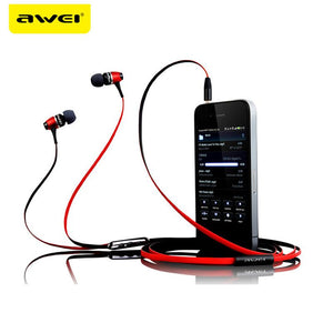AWEI ES-80VI Metal Earphones