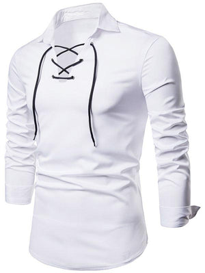 Criss Cross Long Sleeve Shirt
