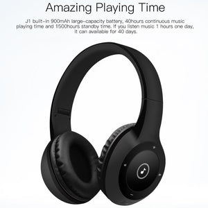 QCY J1 Wireless Bluetooth Headphones Noise Cancelling