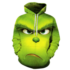 GRINCH FULL FACE Hoodie