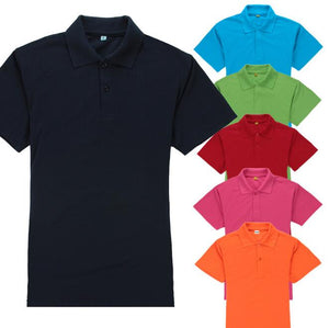 Men's  Cotton Pique Polo Shirt