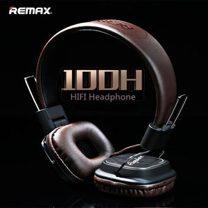 Original Remax 100H wired Stereo noise cancelling Headphones HIFI Headset with Mic Comparison