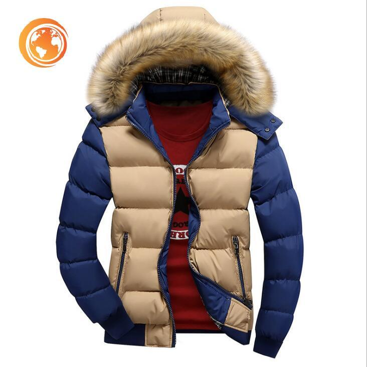 Coats Men Windproof Thick Veste