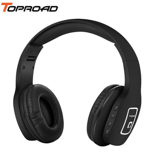 TOPROAD Foldable Wireless Headset Stereo Bluetooth V4.1