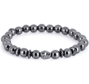 CAMMUO Weight Loss Black Stone Magnetic Therapy Bracelet