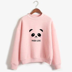 Hoody Long Sleeve Panda Sweatshirt